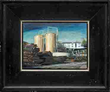 David J. Teter - Pipe Bundles, Two Tanks