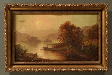Unknown - Untitled: River Scene