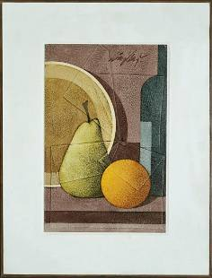 Unknown: Signed - Fruit Study
