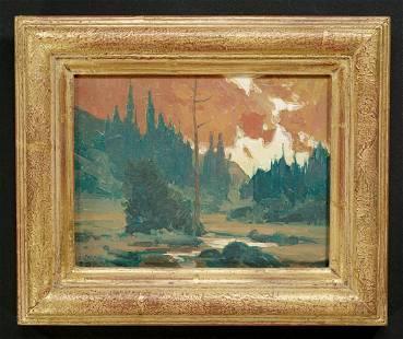 Taylor J. Lynde - Red Mountain Skies