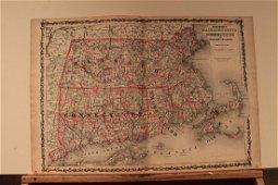 1862 Massachusetts, Connecticut and Rhode Island