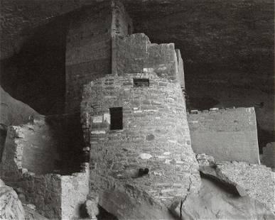 ANSEL ADAMS - Cliff Palace, Mesa Verde National Park