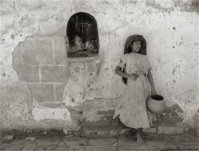 MANUEL ALVAREZ BRAVO - Souvenir Of Atzompan, 1943