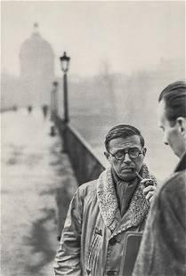 HENRI CARTIER-BRESSON - Jean-Paul Sartre, 1946