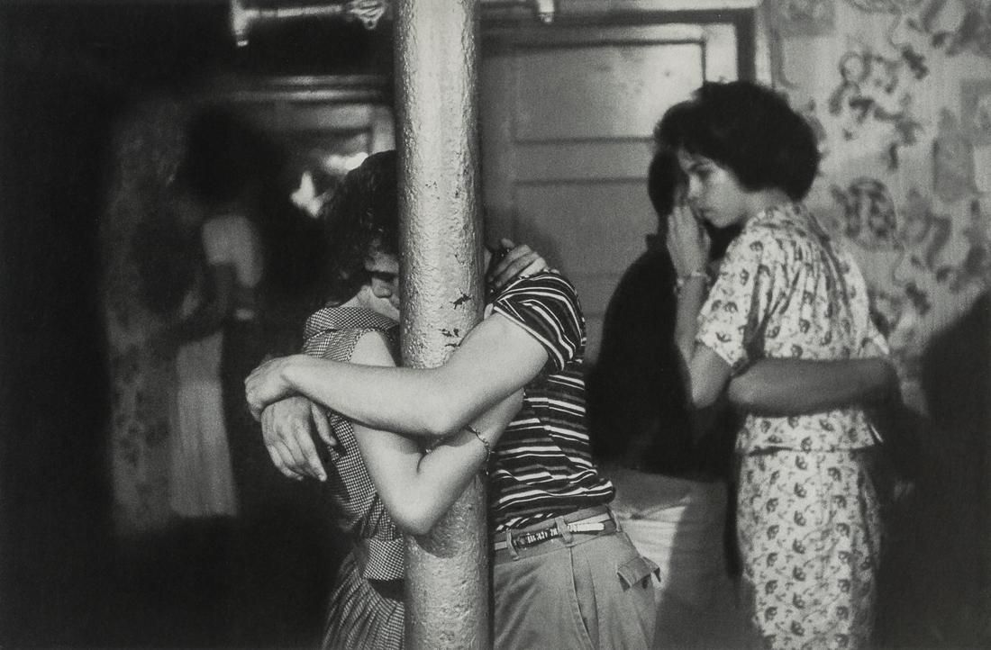 BRUCE DAVIDSON - Makeout Party, Brooklyn, 1959