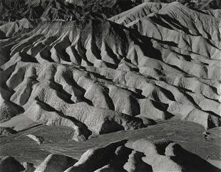 EDWARD WESTON - Zabriskie Point, Death Valley, 1938