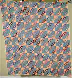 Graphic 30's Snail Trails Quilt