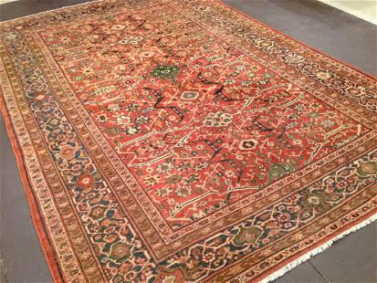 Antique Sultan Abad Carpet 8'6'' X 12'4''