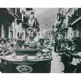 ROBERT CAPA - American Soldiers in Palermo, 1943
