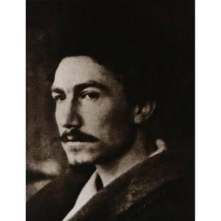 ALVIN LANGDON COBURN - Ezra Pound, 1913