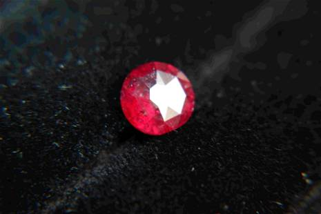 Rubellite, untreated, Ruby Red 2 ct