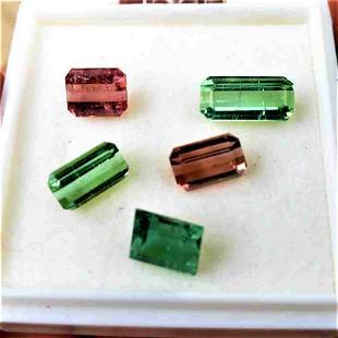 Beautiful colorful Natural Tourmaline Lot - 8 carats