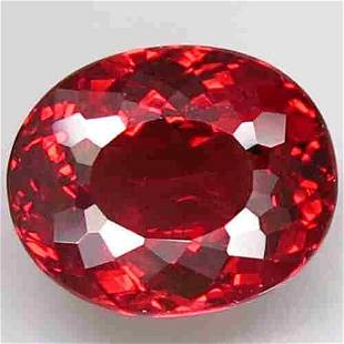 1.46 Ct. Natural Oval Orangish Pink Rhodolite Garnet