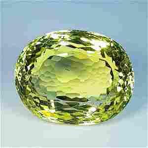 20.30 ct Natural Green Gold Quartz