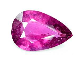 Rubelite Tourmaline Gemstone , Tourmaline Cut Stone
