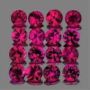 2.30 mm Round Machine Cut 16pcs Mozambique Violet Red
