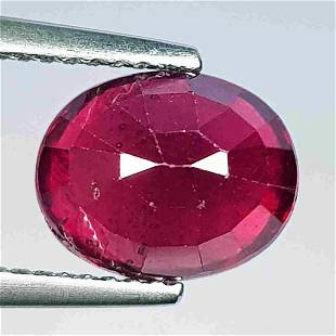 Natural Ruby Oval Cut 4.45 ct