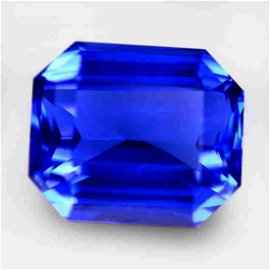 17.68 Cts Beautiful Octagon Top Blue Tanzanite