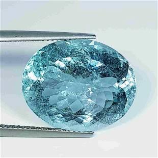 18.78 ct Natural Blue Aquamarine