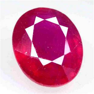 12.54 CTs OUtstanding Look Natural Oval Ruby