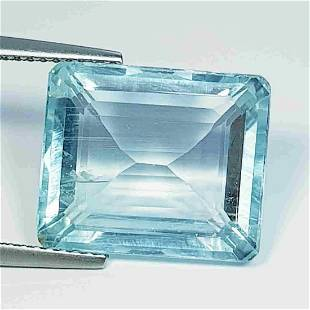 """11.38 ct """" Collective Gem"""" Lovely Natural Aquamarine"""