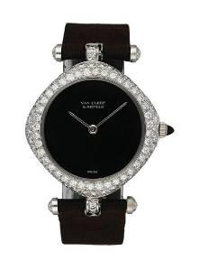 Van Cleef & Arpels G.2201.N3 Diamond Case Ladies Watch