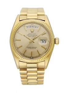 Rolex Day-Date President 1803 18K Yellow Gold Men's