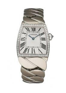 Cartier La Dona WE60019G 18K White Gold Ladies Watch