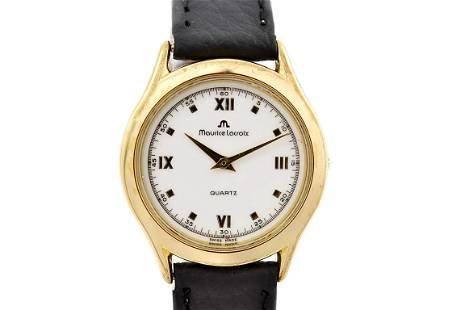Maurice Lacroix 32175 Gold Plated Quartz Ladies Watch