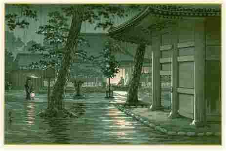 Tsuchiya Koitsu: Takanawa Sengakuji Temple