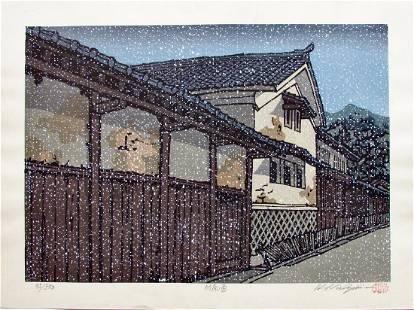 Nishijima Katsuyuki: Takehara in the Snow