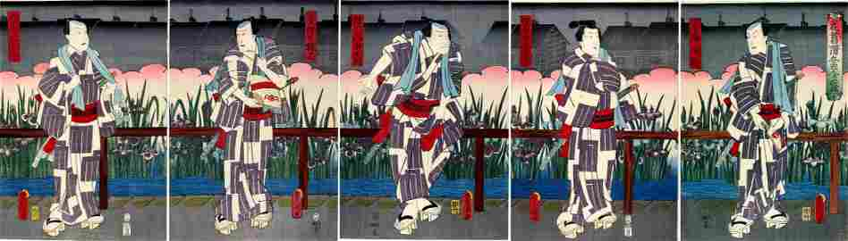 KUNISADA I, Utagawa: An Imaginary Thirty-six Poets: