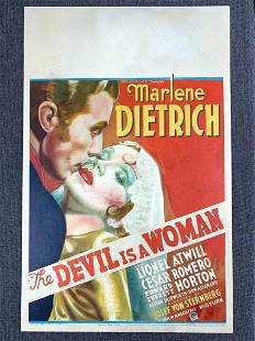 The Devil Is A Woman - Marlene Dietrich (1935) US