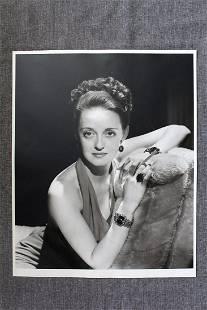 Bette Davis by George Hurrell - Hurrell Portfolio I
