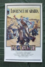 Lawrence of Arabia (1962) US 1 SH Movie Poster LB