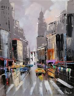 """Alfred Aniol """"New York"""""""