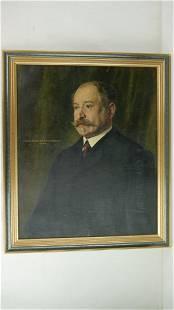 Paul Emile BECAT (1885-1960) - Portrait of a man G.