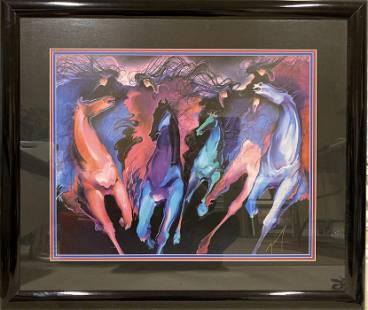 Bonny Youdim Leibowitz - Color Riders' Of Horses -