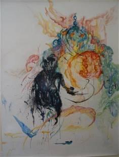 Roya Mansourkhani, Forbidden Dream, Water-mix Media on