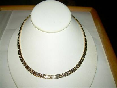 """Gold Over Sterling 20"""" Chain Link Necklace - Each Link"""