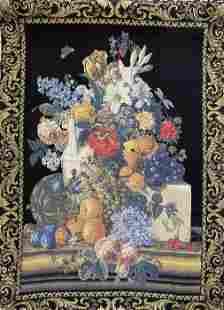 French Tapestry, Jarre De Fleurs, Tapisseries du Lion