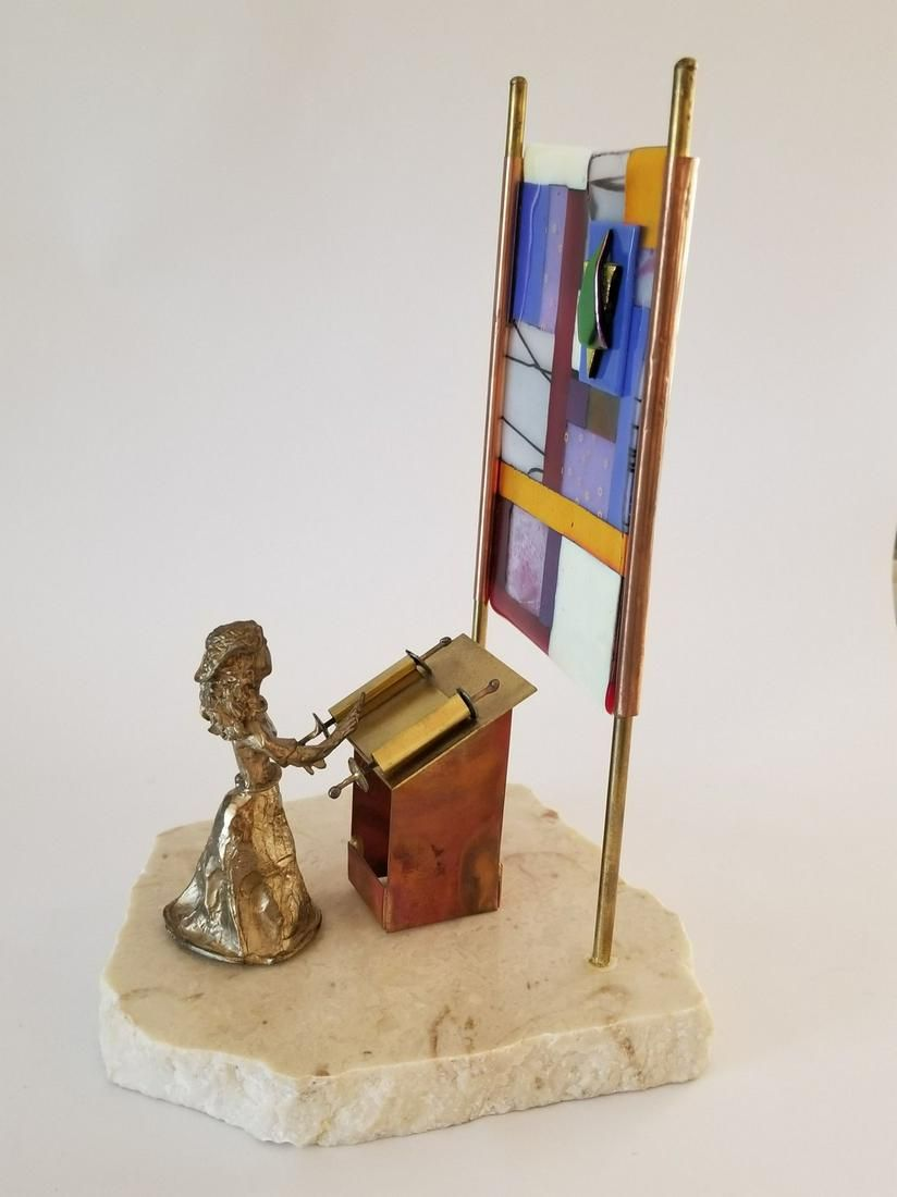 Mix Media Sculpture - The Preacher