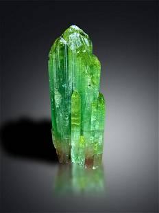 Bicolor Tourmaline Crystal from Afghanistan - 189 gram,