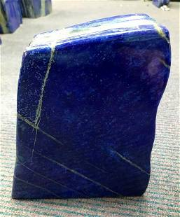 AAA Quality Blue Lapis Lazuli Tumble @Afg, 6500 Gram