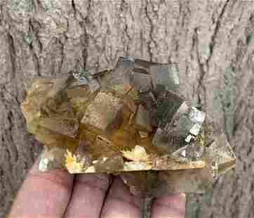 238 Gram Terminated Natural Fluorite Specimen
