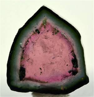 4.5 Carats Beautiful Watermelon Tourmaline Slice
