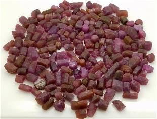 200 Grams Beautiful Ruby Crystals