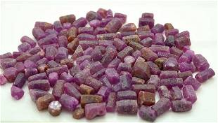 2Kg Beautiful Ruby Crystals Lot