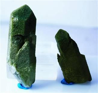 Natural Green Quartz Crystal