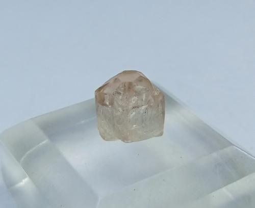 Natural Orange Brown Topaz Crystal